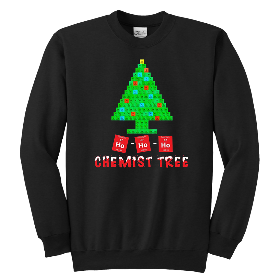 Chemist tree Crewneck Sweatshirt