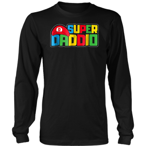 SUPER DADDIO - FUNNY FATHER'S DAY - THE BEST DAY Tshirt