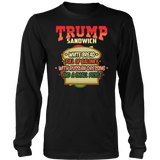 Trump Sandwich Anti-Trump Impeachment Funny T-Shirt