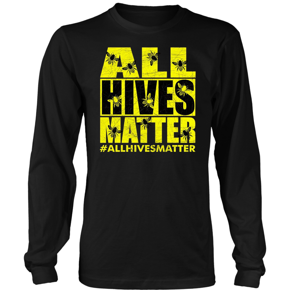 Beekeeper T-Shirt Beekeeping Shirt All Hives Matter Shirt