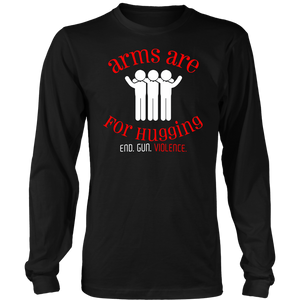 Arms are for hugging shirt