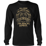 Best Men Born in April T-Shirt