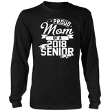 Proud Mom of a Class of 2018 Graduate T-Shirt | Class of 18