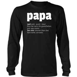 Definition Of PaPa T-Shirt