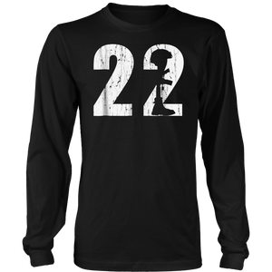 22 Too Many PTSD Awareness Shirt