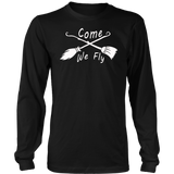 Come We Fly Funny Halloween Costume Scary Shirt