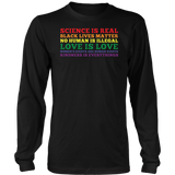 Lgbt Science Is Real Black Lives Tshirt