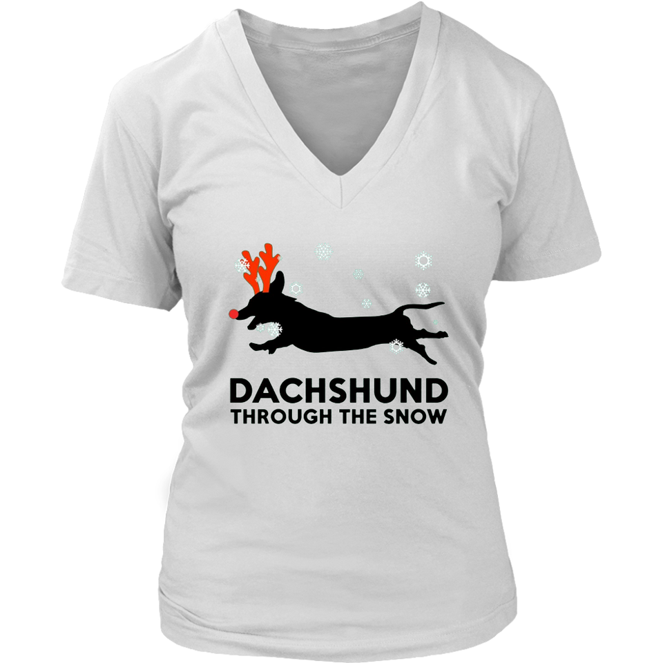 Dachshund through the snow T-Shirt