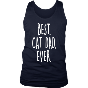 Best Cat Dad Ever Cool Gift T-Shirt