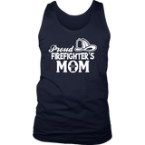 Proud Firefighter Mom T-Shirt
