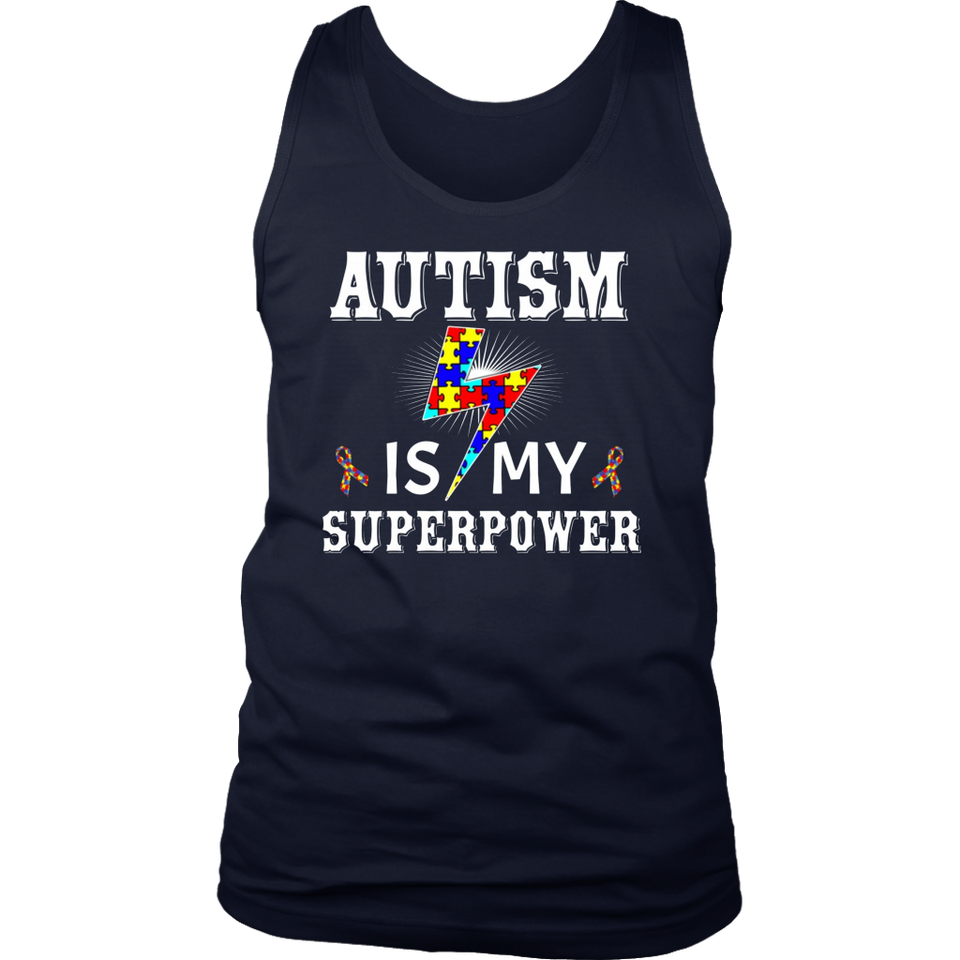 Autism Awareness Shirt Gift Autism Is My Superpower Tee