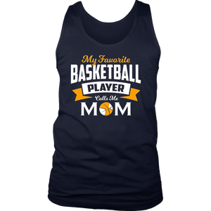 My favorite basketball player calls me mom T-shirt