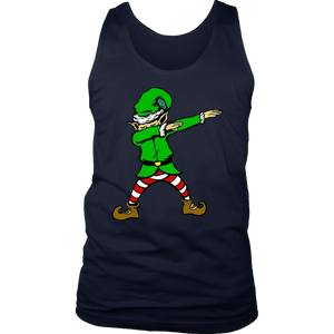Dabbing Elf T-Shirt Funny Christmas