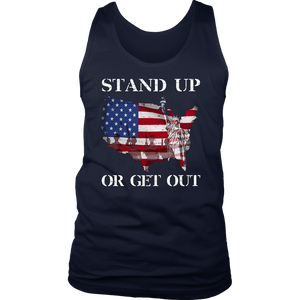 Stand Up Or Get Out T-Shirt