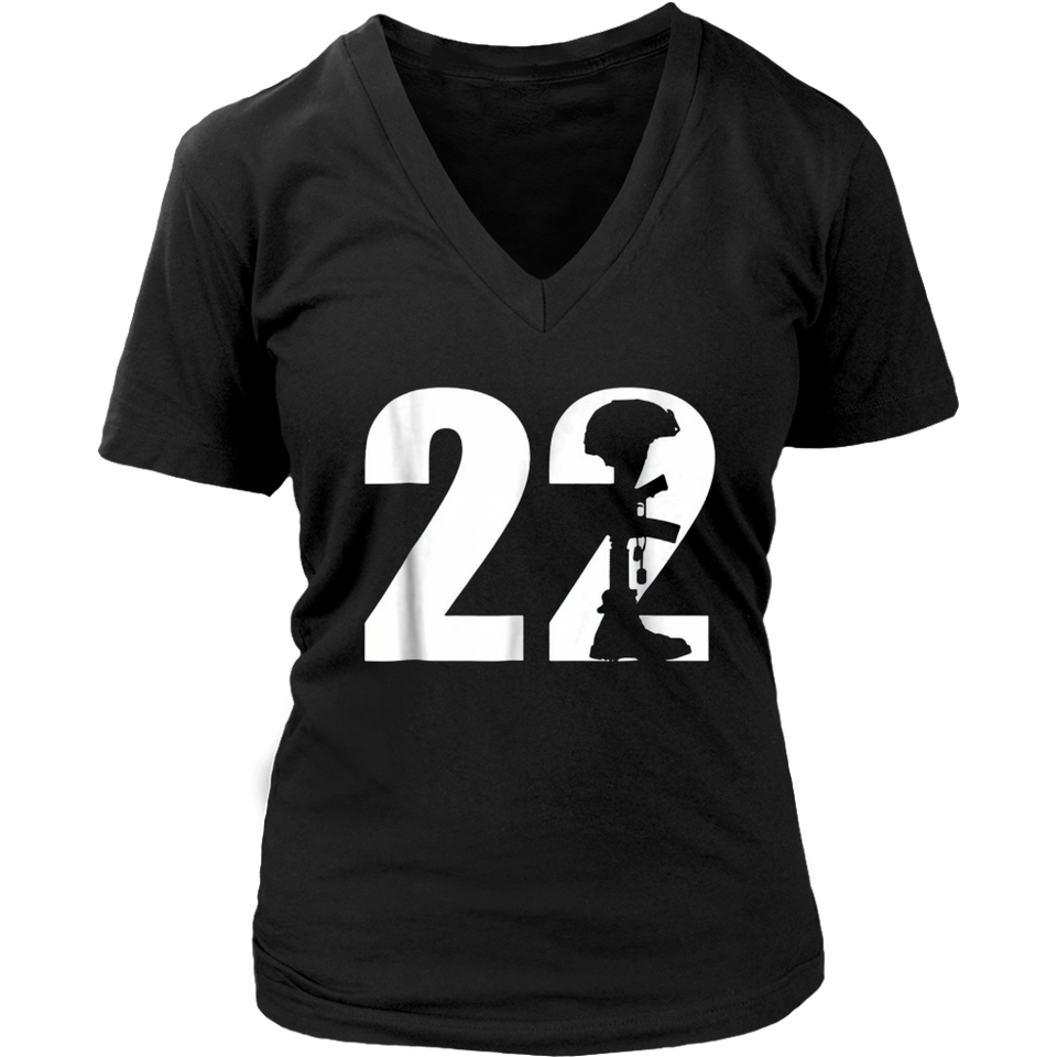 22 Too Many PTSD Awareness TShirt Veterans
