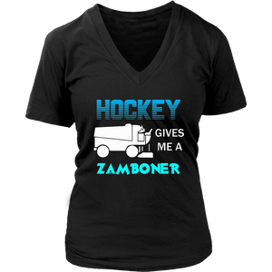Hockey Gives Me A Zamboner T-Shirt