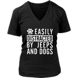 Easily Distracted By Dogs And Tennis T-Shirt