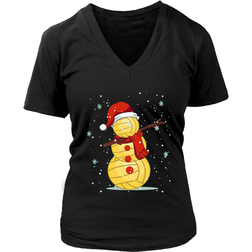 Dabbing Snowman Volleyball Shirt