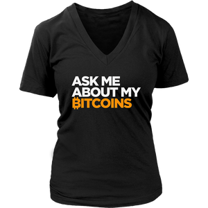 Ask Me About Bitcoin T-Shirt