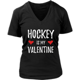 Hockey Is My Valentine Shirt