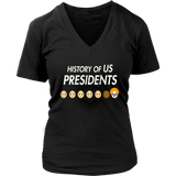 Anti Trump Evil Clown T-Shirt - History of US Presidents