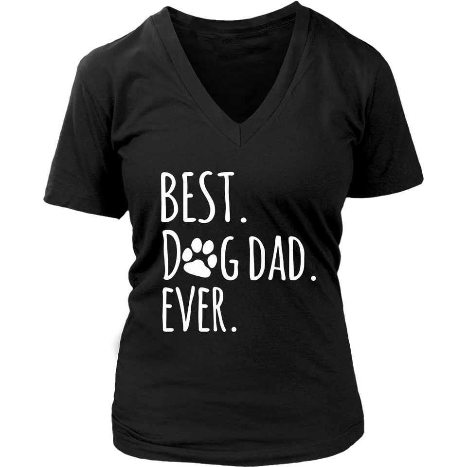 Best Dog Dad Ever T-Shirt Father's Day
