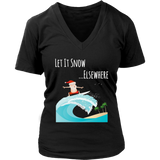 Let It Snow Shirt Christmas Holiday Snowman TShirt