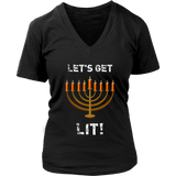 Let's Get Lit Christmas T-Shirt