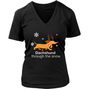 Dachshund through the snow Shirt