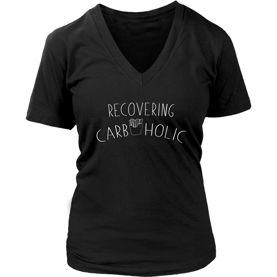 Recovering Carboholic T Shirt