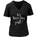 It's Race Day Y'all Car Racing T-shirt