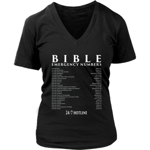 Bible Emergency Numbers Hotline Shirt