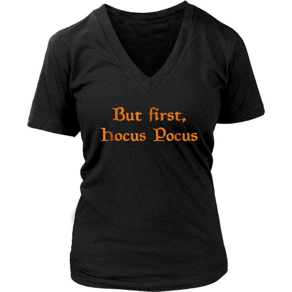 But First Hocus Pocus Cat T-Shirt