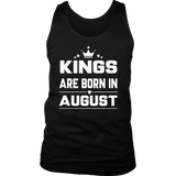 Kings Are Born In April Birthday T-Shirt