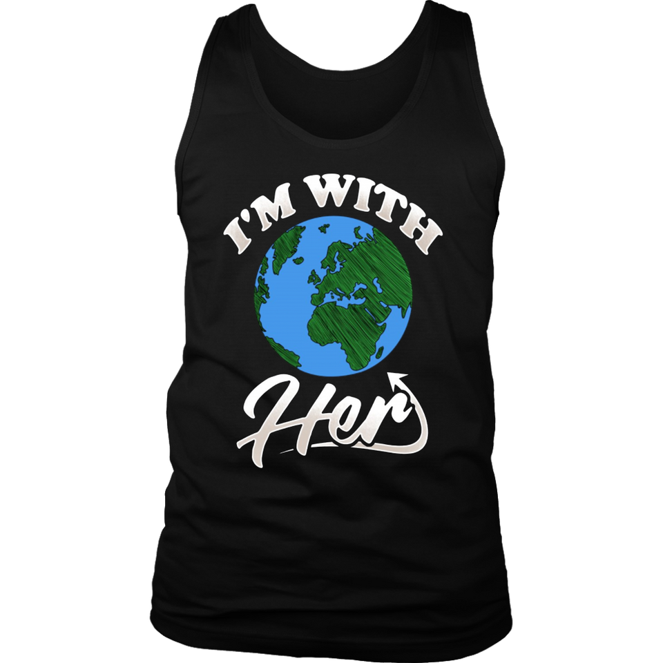 I'm With Her - Statue of Liberty - T-shirt