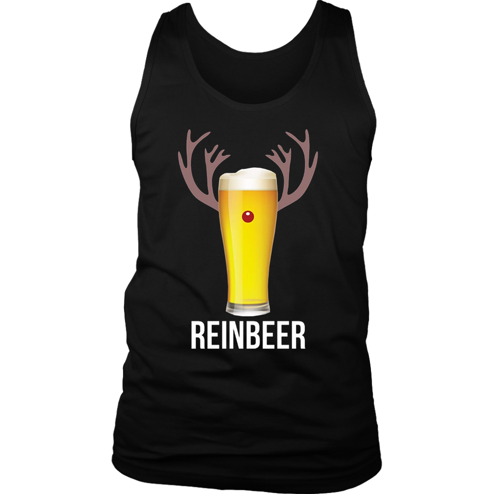 Reinbeer T-Shirt Funny Christmas Gift For Beer Lovers TShirt