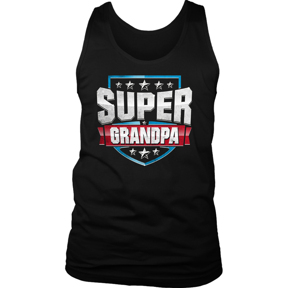 Super Hero Grandpa T-Shirt