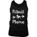 Pitbull Mama, Proud Pitbull Mom women's T-shirt