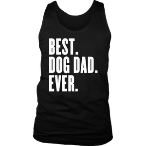 Best Dog Dad Ever Gift T-Shirt