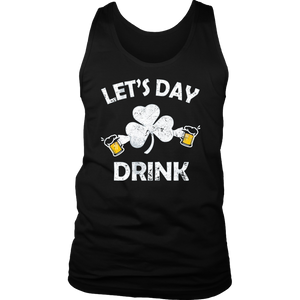 Let's Day Drink St. Patrick's Day Drinking T-Shirt