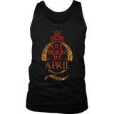 Queens Are Born In April TShirts