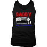 Superhero Father's Day Gift Men's Real Life Super Hero Daddy T-Shirt