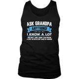 Ask Grandpa Anything Funny Father's Day T-Shirt