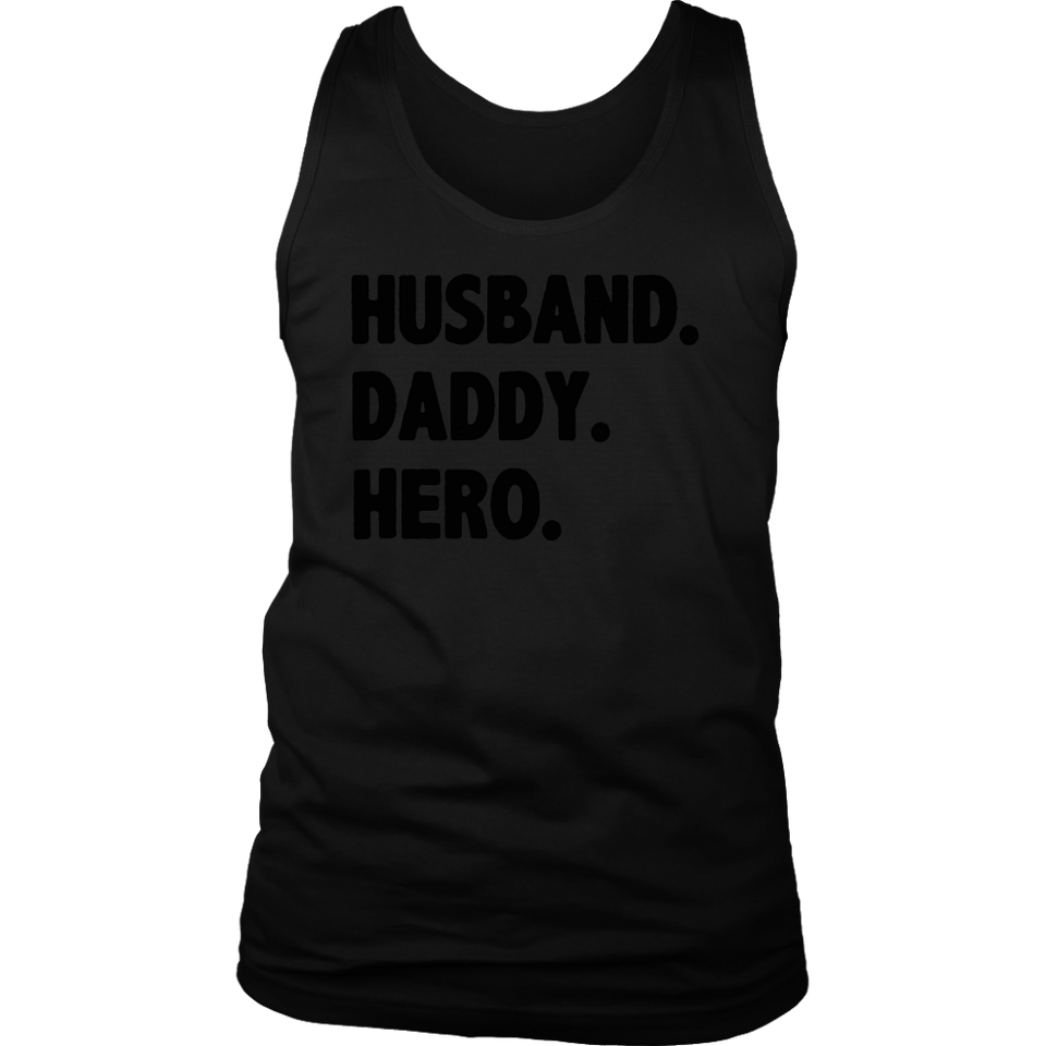 Husband Daddy Hero Shirt Father's day gift