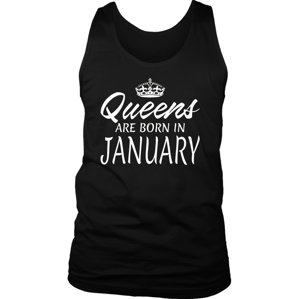 Queens are born in January Best T-Shirt