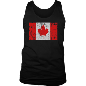 Canadian Flag Maple Leaf Canada Toronto Montreal T Shirt