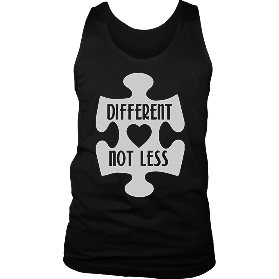 Autism Different Not Less Shirt
