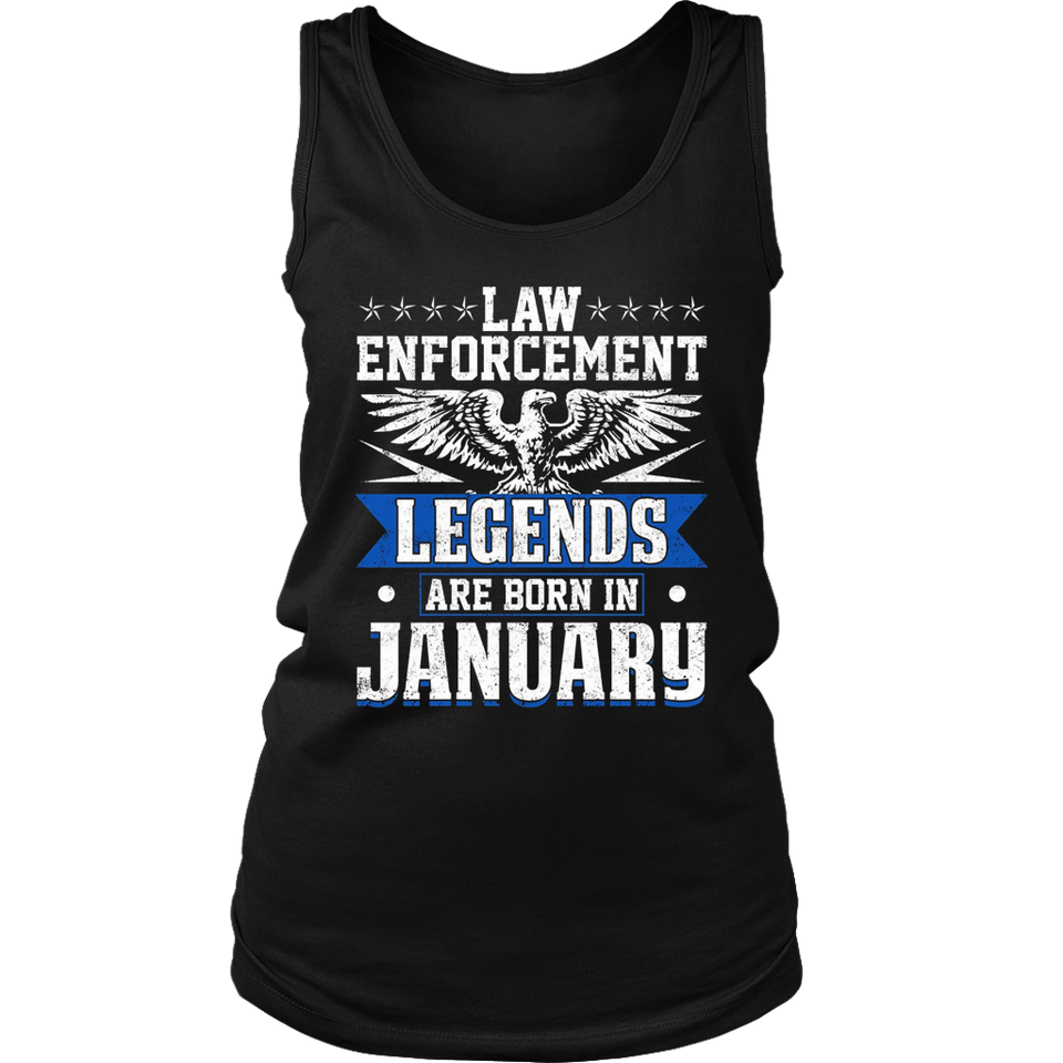 Legends are born in January T-Shirt