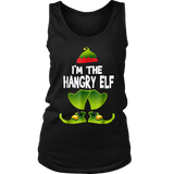 I am The Hangry Elf Matching Family Group Christmas TShirt