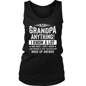 Ask Grandpa Anything T Shirt